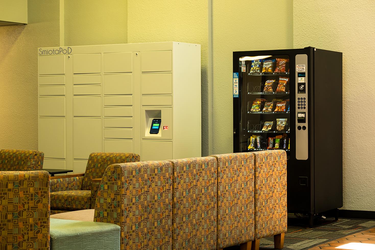 UNLV Student Residence Halls Integrates Smiota's Package Lockers