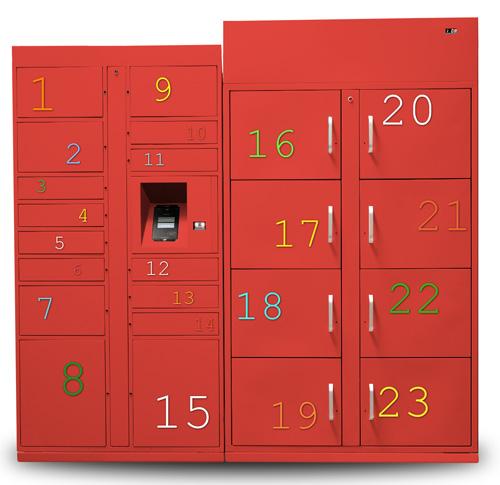 Refrigerated Package Lockers