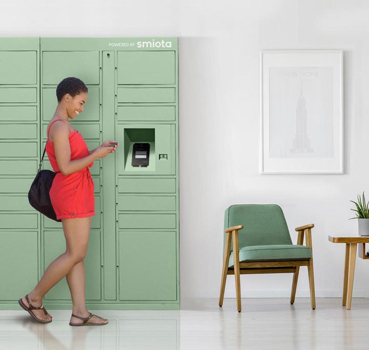Smiota Residential Package Lockers