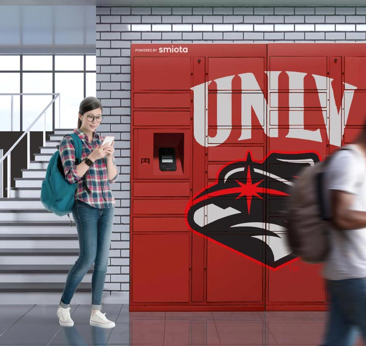Smiota University Package Lockers