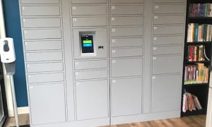 Smiota Installs Smart Lockers at Wilmington Public Library