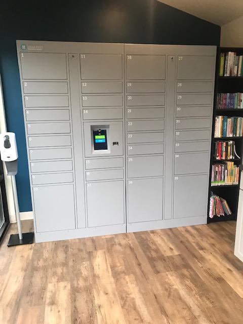 Smiota Installs Smart Lockers at Wilmington Public Library